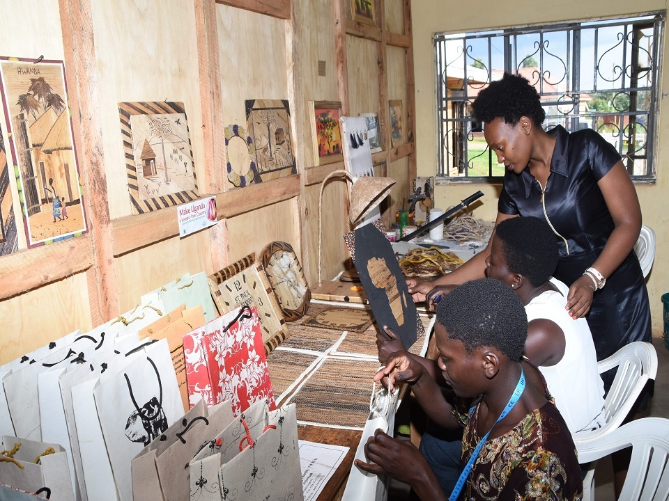 Handicraft Skills training at TEXFAD